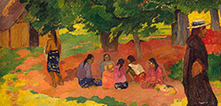 "Paul Gauguin, ""Taperaa Mahana"", 1892"